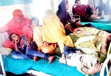 Two-three patients accommodated on single bed at SDH Mendhar as diarrhoea spreads.