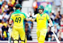 Aaron Finch and Steve Smith stitched a match-winning stand of 174 on Saturday.