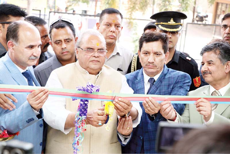 Governor Satya Pal Malik inaugurating J&K Bank branch in Shirdi.