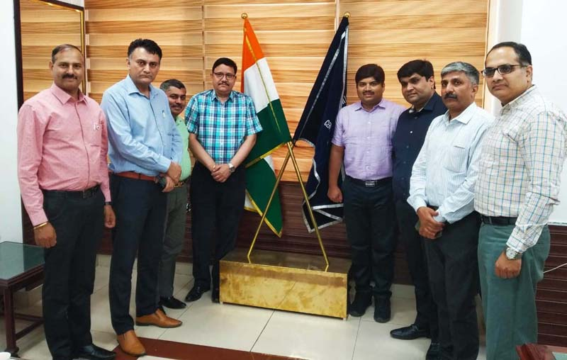 PHDCCI members posing with Commissioner CGST Jammu and other officers.