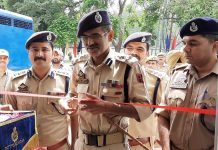 DIG Jammu, Vivek Gupta inaugurating DySP office at DPL Kathua on Tuesday.