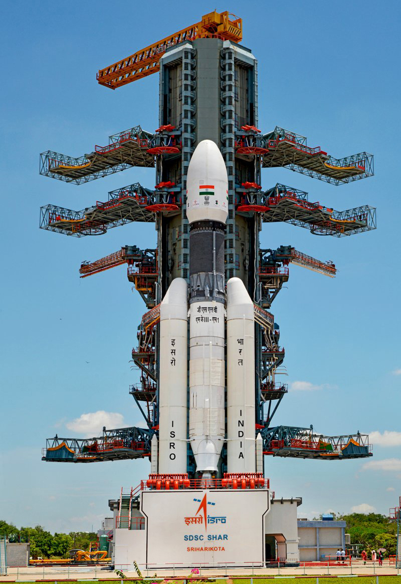 Stage set for ISRO's Chandrayaan-2 launch on Monday. The countdown commenced on Sunday.