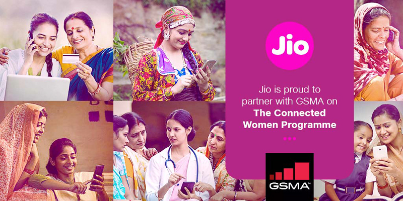 Jio joins GSMA's Connected Women Initiative to promote gender inclusivity in internet usage