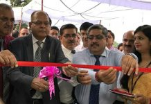 J&K Bank ATMs being inaugurated by President GM Sadiq at Udhampur.