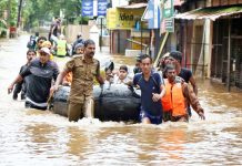 Floods and landslides claims 50 lives in Nepal.