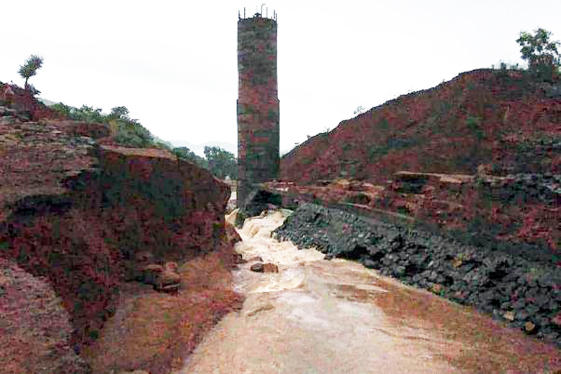 MUMBAI, July 3: Twenty three persons are feared dead after a dam in Maharashtra's coastal Konkan region breached following incessant rains leading to flood-like situation in downstream villages, officials said Wednesday. Bodies of 11 persons have been recovered so far, a police official said. The total toll would be 23, he added. The Tiware dam in Chiplun taluka of Ratnagiri district has a storage capacity of 20 lakh cubic metre. It developed a breach late Tuesday night, a district official said. The dam breach caused a flood-like situation in seven downstream villages, with 12 houses being swept away.