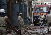26 fire engines are battling a major fire that broke out at a factory in Delhi's Jhilmil Colony on Saturday.