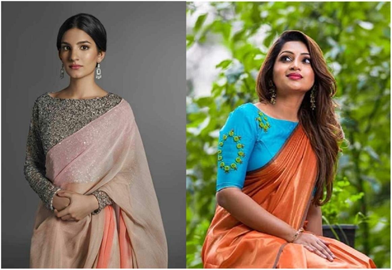 15 Types Of Designer Blouses For Plain Sarees