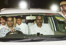 Former Home Minister P Chidambaram after his arrest by CBI on Wednesday.