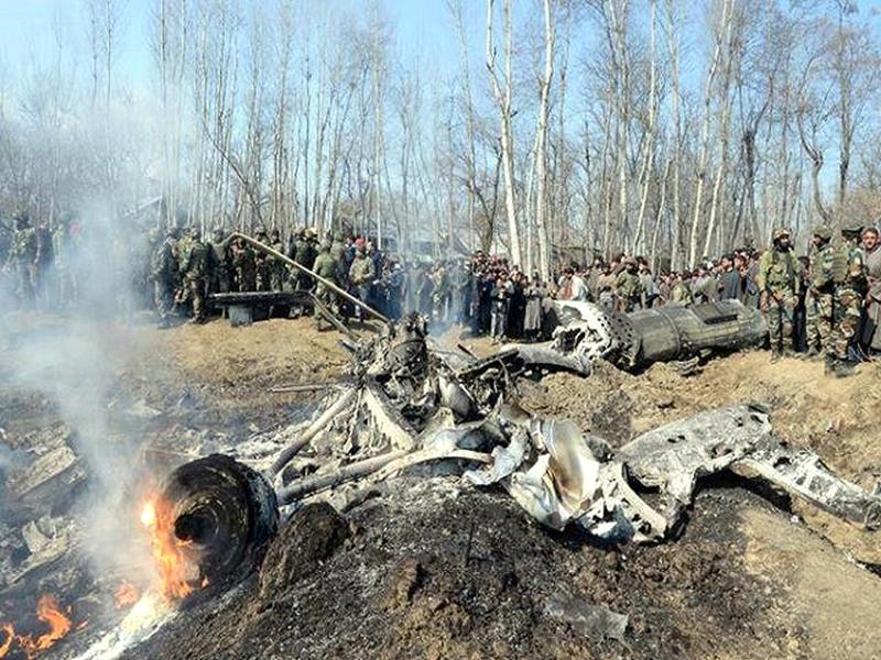 IAF chopper in Budgam crashed on February 27. (File Photo)