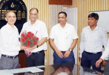 PCCF Dr Mohit Gera being received by CCF Jammu and others.