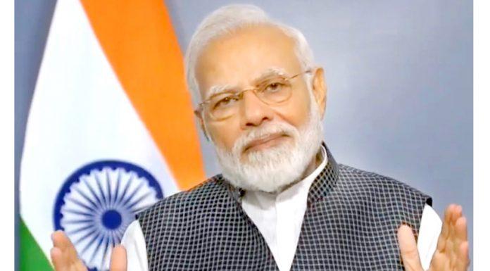 Prime Minister Narendra Modi addressing the nation on Thursday.