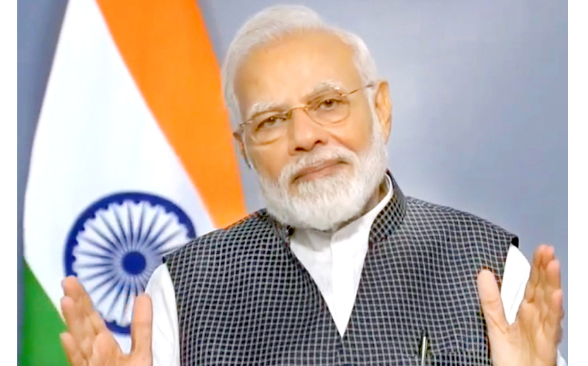 Prime Minister Narendra Modi addressing the nation on Thursday.