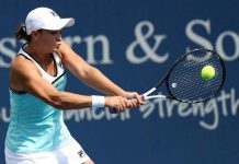 Australia's Ashleigh Barty rallied to beat Greece's Maria Sakkari to reach the WTA Cincinnati Masters semi-finals.