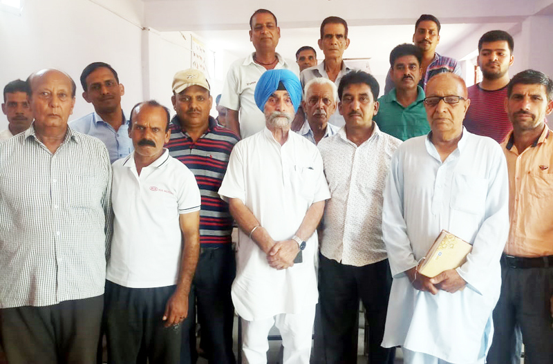 JKSAC members posing for a photograph at Jammu.