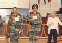 Northern Command chief Lt Gen Ranbir Singh inaugurating CME in Command Hospital Udhampur on Tuesday.