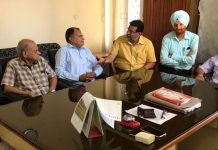 Delegation of Jat Biradari apprising Chairman of State Commission for Backward Classes J&K about their issues.