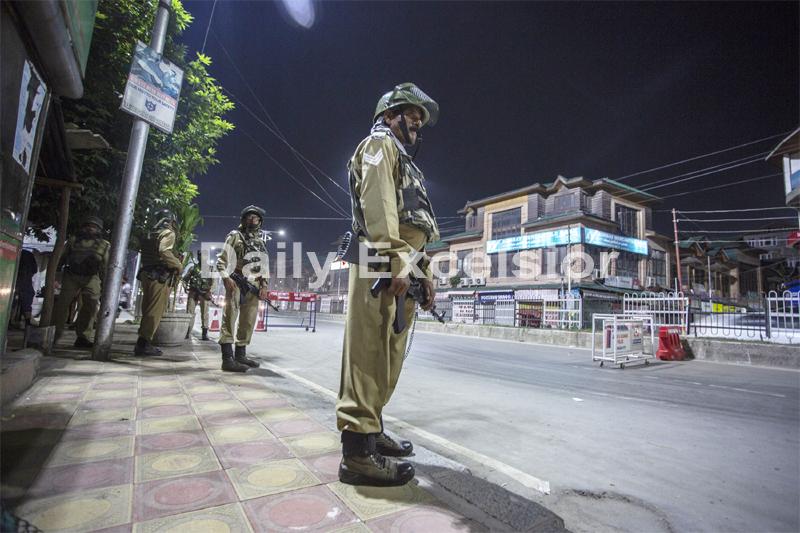 Curfew like restrictions in Valley, Sec 144 in Jammu