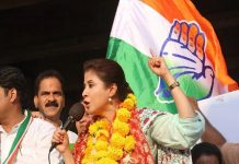 Cine Star Urmila Matondkar on announces her resignation.