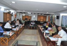 JU Vice-Chancellor chairing the University Syndicate meeting on Thursday.