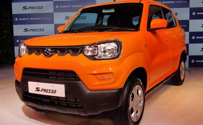 Suzuki Mini Suv >> Maruti Drives In Mini Suv S Presso Price Starts At Rs 3 69 Lakh