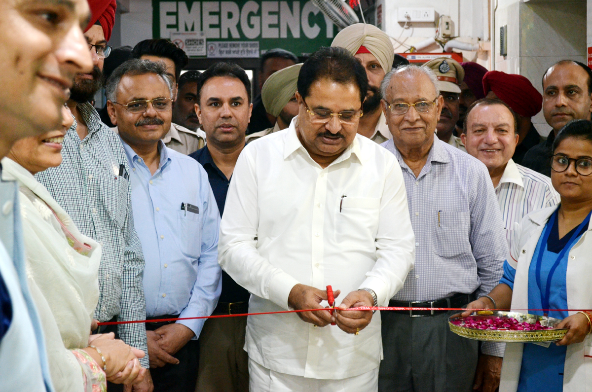 OP Soni, Cabinet Minister Punjab inaugurating India's First