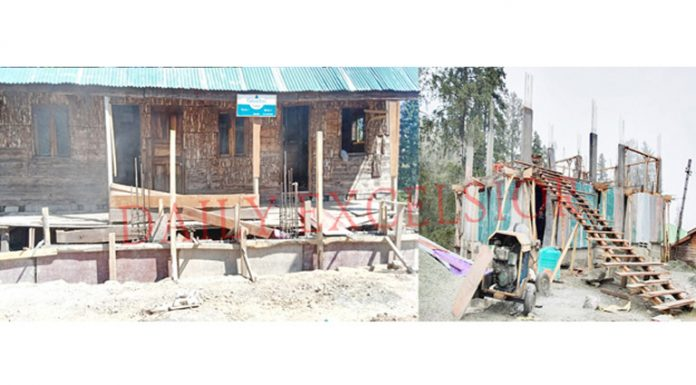 Green Tree Lodge before (left) and after re-construction (right). -Excelsior/Shakeel