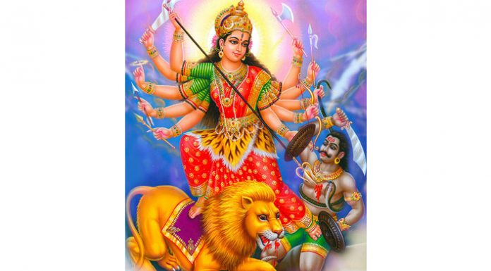 Durga Navmi Greetings To All Our Readers.