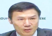 Xiangmin Liu, FATF president.