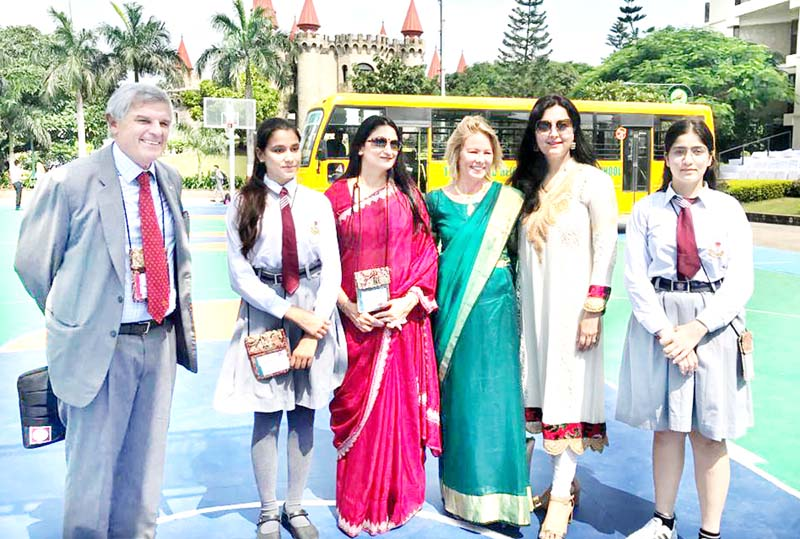 KCPS delegates after attending Round Square Conference at Indore in Madhya Pradesh.