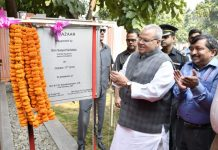 Governor Satya Pal Malik inaugurating JK Bazaar at New Delhi.