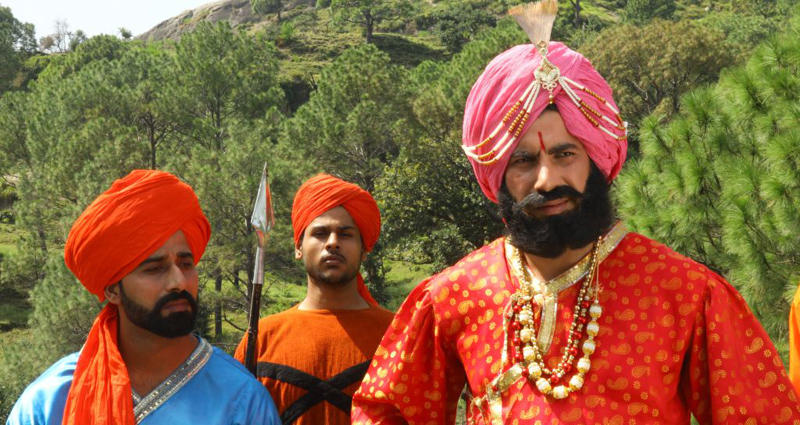 A scene from the film 'Gulab Gatha' produced by Natrang.