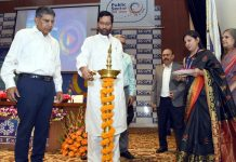 "Union Minister for Consumer Affairs, Food and Public Distribution, Ram Vilas Paswan lighting the lamp to inaugurate the 'Seminar on Video Standards create a Global Stage', on the occasion of the ""World Standards Day"", in New Delhi on Monday."