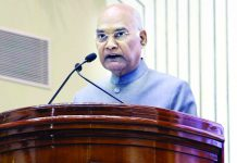 President Ram Nath Kovind addressing at 15th FICCI Higher Education Summit 2019, in New Delhi on Wednesday. (UNI)