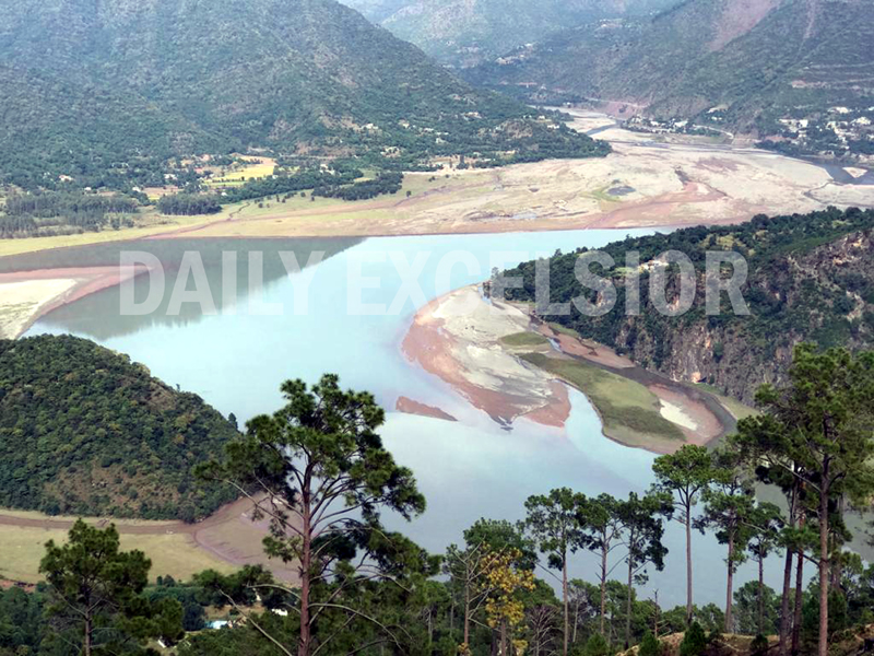 A magnificent view of Thanpal area in Reasi. -Excelsior/Karandeep