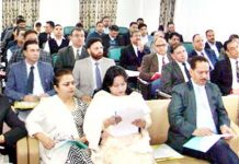 Civil Judges and Judicial Magistrates attending orientation programme in Jammu.