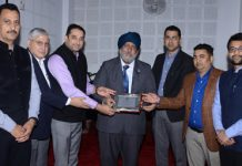 Chartered Accountants during a seminar in Jammu.