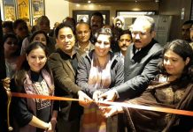 Director Tourism Jammu, Deepika Sharma, inaugurating India Travel Mart (ITM) at Hotel Ramada in Jammu.