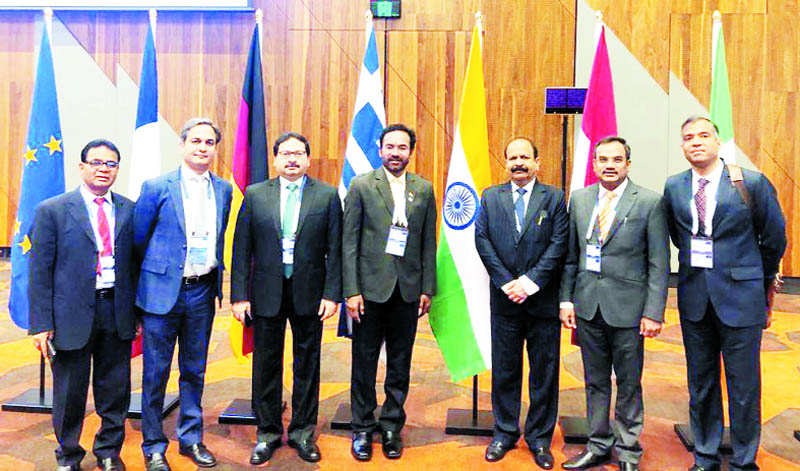 Minister of State for Home Affairs, G. Kishan Reddy leads the Indian delegation at 'No Money for Terror' Ministerial Conference in Melbourne, Australia on Thursday.