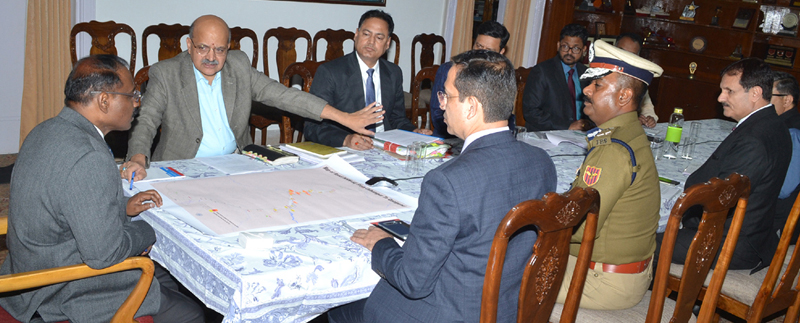 Lt. Governor chairing meeting on Monday.