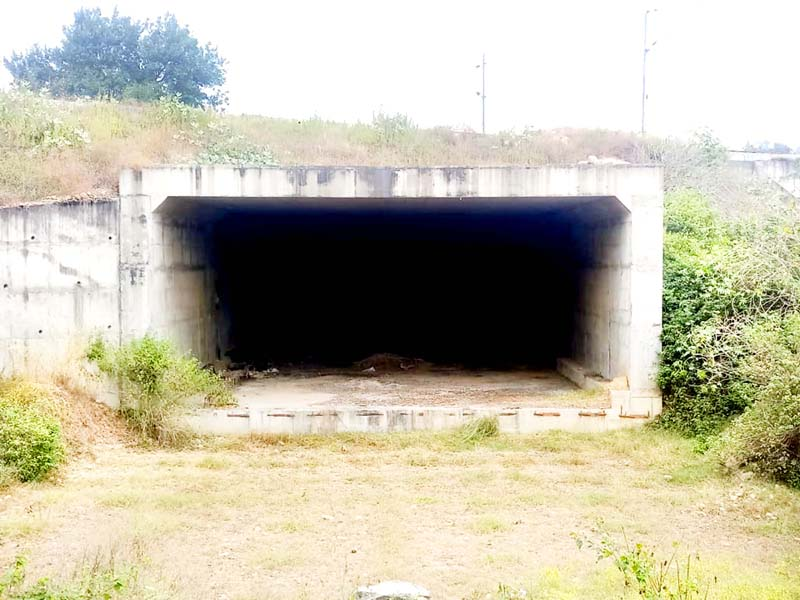 A portion of NH which has not been constructed by NHAI for last six years.