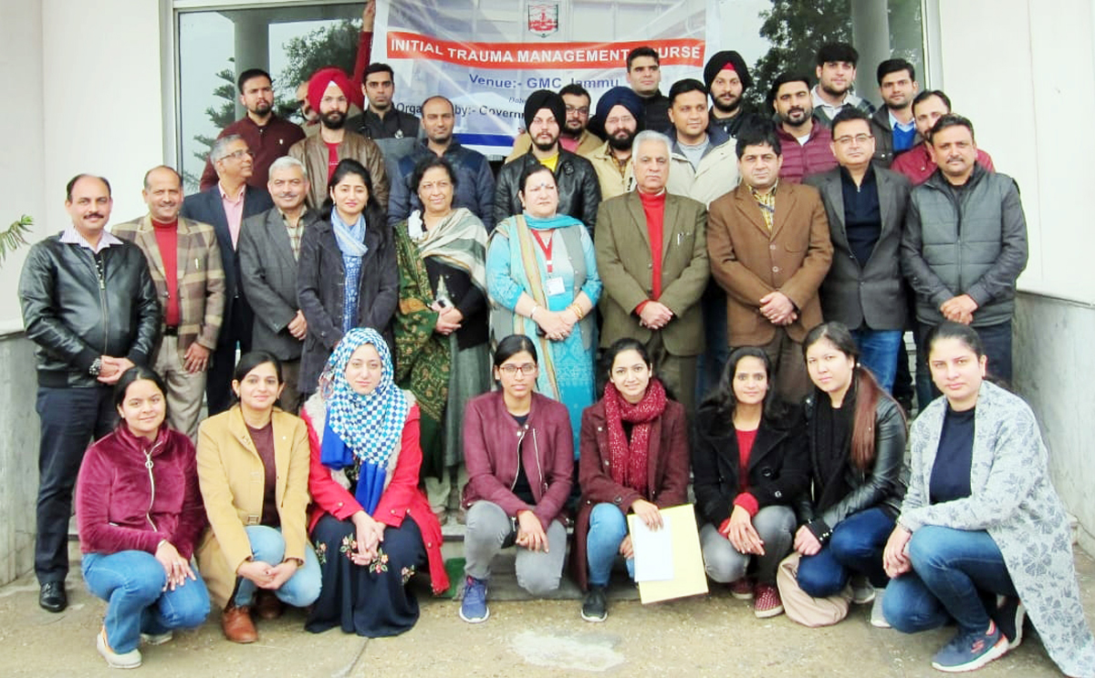 Trauma Management Course Concludes At Gmc Jammu