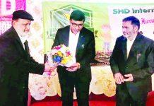 DC Poonch Rahul Yadav at the inauguration of SHD International School at Surankote on Thursday.