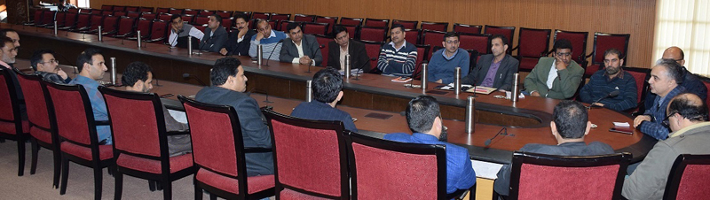 KAS officers during general body meeting of their Association on Sunday.