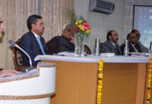 PCCF Mohit Gera and others at CAMPA meeting in Jammu on Saturday.