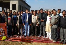 Members of All J&K Shri Sadguru Kabir Sabha posing for group photograph after meeting.