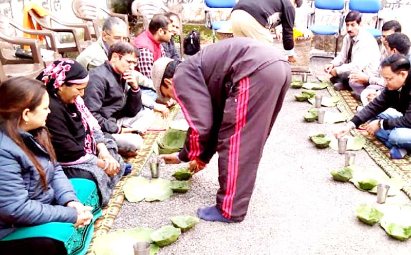 Reasi admn using traditional Dunna-Pattal as alternate to SUP.