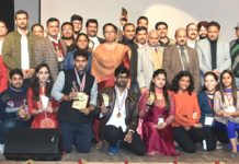 Winners of various events with faculty & organizers of Agri Fest on concluding day.