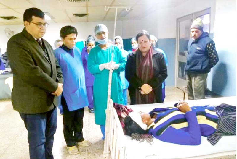 Two Corneal Transplants Conducted In Gmc Jammu After Registration