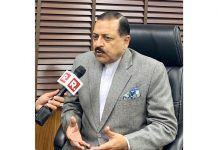 Union Minister Dr Jitendra Singh speaking to media at New Delhi on Saturday.